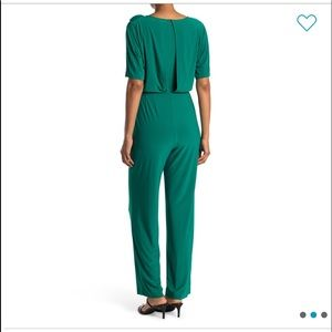 Vince Camuto Green Jumpsuit